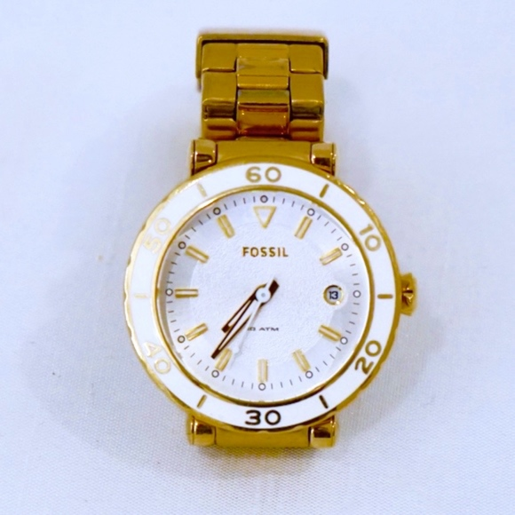 e38a4c2872c Fossil Accessories - FOSSIL~LADIES WATCH~WATER RESISTANT~GOLD WHITE